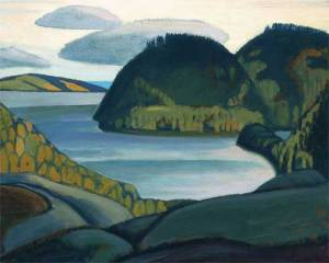 Coldwell Bay North of Lake Superior 1923 Lawren Harris