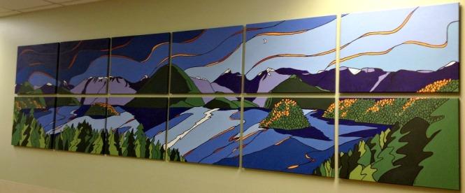 BC Children's Hospital PaintFest A Moonstruck Westcoast