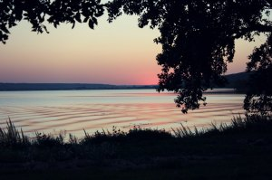 Sunset Katepwa Lake at Lebret