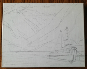 Tugboat sketch Spring 2013